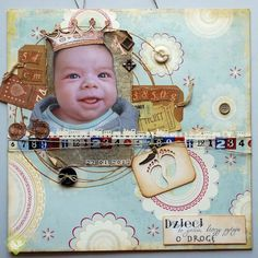 King Anthony the Cute :-) - Scrapbook.com