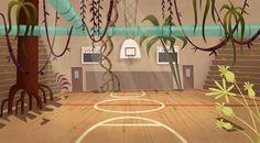 Stephen Nicodemus: My Gym Partners a Monkey background art