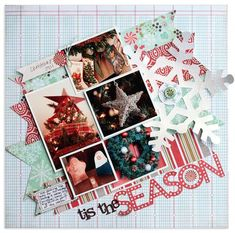 #papercraft #scrapbook #layout   Lisa Dickinson
