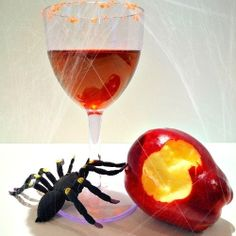 Poisoned Apple Halloween Cocktail