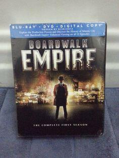 Boardwalk Empire complete first season, blu-ray