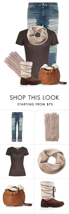 """""""Untitled #21672"""" by nanette-253 ❤ liked on Polyvore featuring Alexander McQueen, UGG and James Perse"""