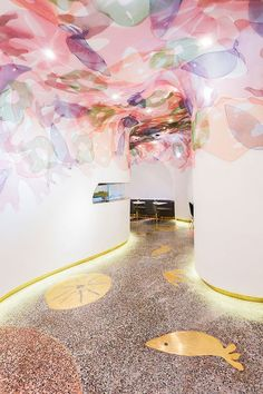 SODA Architects Designs Blufish Restaurant in Beijing #restaurantdesign