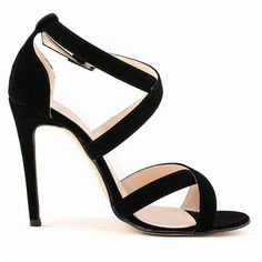 14d7ff4172fc Big Size Strappy Vintage Peep Toe High Heel Buckle Sexy European Style  Pumps Sandals Gladiator Sandals