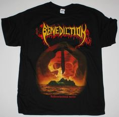>> Click to Buy << BENEDICTION SUBCONSCIOUS TERROR NAPALM DEATH NOCTURNUS NEW BLACK T-SHIRT T Shirts 2017 Brand Clothes Slim Fit Printing #Affiliate