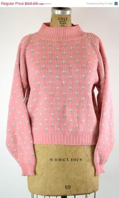 ETSY SALE 80s SWEATER Hipster Sweater // Vintage by MyrtleBedford, $25.00