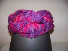 $28  Braided Cowl in Pinks - 2 available