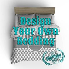 Design Your Own Bedding Choose From Many Patterns Fonts Colorore