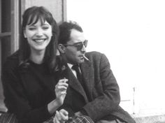 Film actress: Anna Karina | Director: Jean-Luc Goard | Born: September 22, 1940 | annakarina.org (inactive)