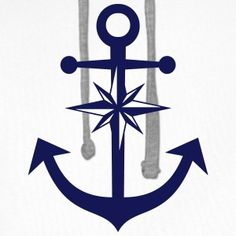 Tattoo Homme, Small Anchor Tattoos, Sibling Tattoos, Nautical Star, Sweat Shirt, Tatoos, Tattoo Ideas, Patches, Cricut