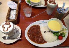 at moomin cafe