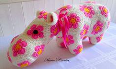 Crochet Hippo  Crochet Animals by mariascrochet21 on Etsy