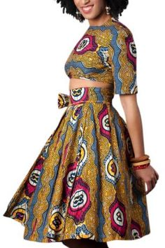 Amara Wrap ~African Prints, African women dresses, African fashion styles, African clothing, Nigerian style, Ghanaian fashion