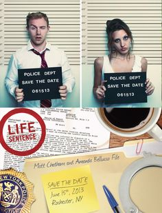 The following funny wedding invitations are brilliantly conceived and executed with some genuinely funny messages and original ideas. Give your guests a good laugh and let them know to expect a fun and happy time. - See more at: http://blog.nextdayflyers.com/20-ideas-funny-wedding-invitations/#sthash.CzSDUp83.dpuf