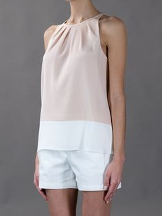 Pink top from THEORY