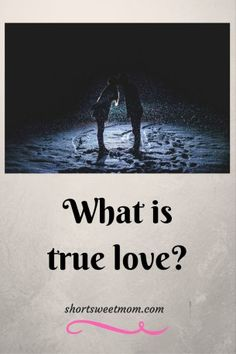 What is true love? True love is renewing your vows on your death bed.