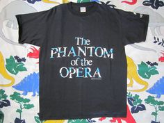 3e19286aa996 Vintage Phantom of the Opera T-Shirt - 1980 - New York