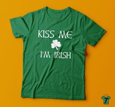 St Paddy's Day Tshirt,Irish T-shirt,St Paddy's Day shirts,Lucky Irish Shirts,Funny St Paddy Day Tshirts by HappyTeeDay on Etsy
