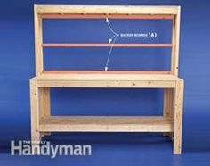 How to Build a Workbench: Super Simple $50 Bench