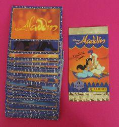 Vintage Panini Disney's 'Aladdin' trading cards | Flickr - Photo Sharing!