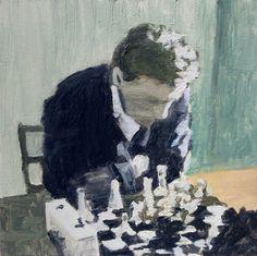 Antonio LeeOil on canvas. 25cm x 25cm