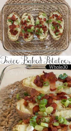 These twice baked potatoes look amazing!! I've got to try these dairy free…