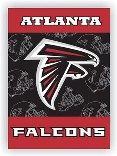 NFL Atlanta Falcons 2-Sided 28 X 40 House Banner