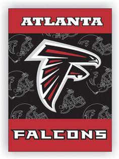 NFL Atlanta Falcons 2-Sided 28 X 40 House Banner