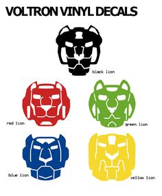 Hey, I found this really awesome Etsy listing at https://www.etsy.com/listing/473996580/voltron-lion-vinyl-decals