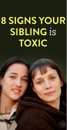 8 Signs Your Siblings Are Toxic - Modern Broken Family Quotes, Toxic Family Quotes, Dysfunctional Family Quotes, Sibling Quotes, Sister Quotes, Sibling Relationships, Toxic Relationships, Hurt By Family, Narcissistic Sister