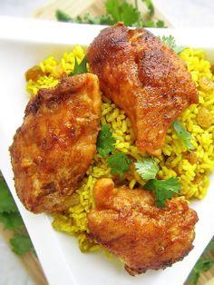 California Chicken with Mediterranean Pilaf- Eat, Move, Shine