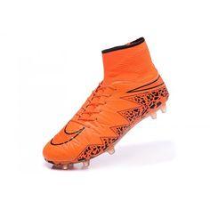 classic fit 0d378 34491 Nike Hypervenom - Beste Nike Hypervenom Phantom II FG Orange Schwarz