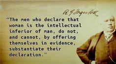 Robert G. Ingersoll -  Self-deprecation