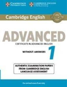 Cambridge English Advanced 1 For Revised Exam From 2015 Student S Book Without Answers In 2020 Cambridge English English Advanced English