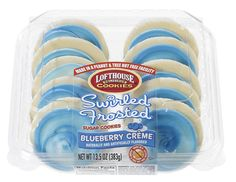 Blueberry Creme Frosted Sugar Cookie | Lofthouse Cookies