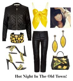 """""""Hot Night in the Old Town!"""" by laineys on Polyvore featuring River Island, Alexander McQueen, ALDO, Divya Diamond, Dolce&Gabbana and STELLA McCARTNEY"""