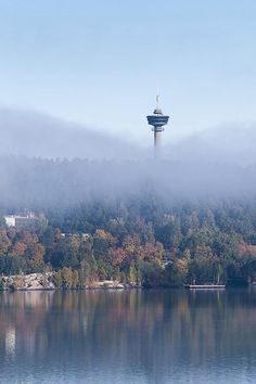 A foggy autumn morning in #Tampere, #Finland. Photo by Jarkko Haarla.