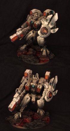 XV104 Riptide Battlesuit - TAU