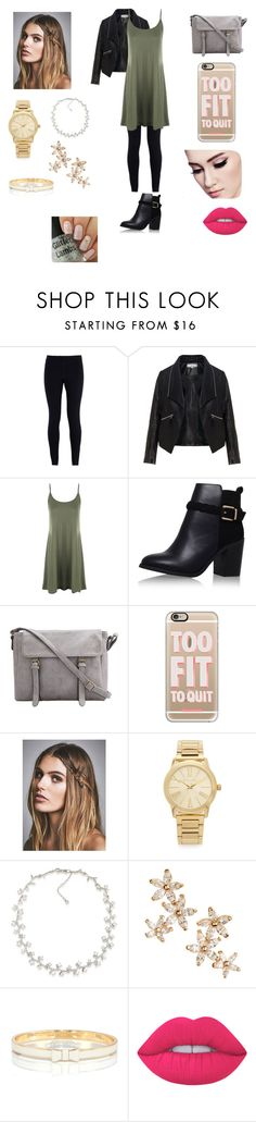"""Teacher"" by keilydelgado on Polyvore featuring NIKE, Zizzi, WearAll, Topshop, Casetify, Free People, Michael Kors, Carolee, Bonheur and Kate Spade"