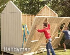 Building a Storage Shed- Don't need the fancy windows but like the step by step here...