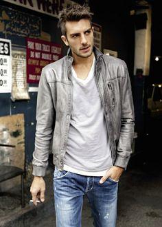 The jacket #ShadesofGray #colour #casual