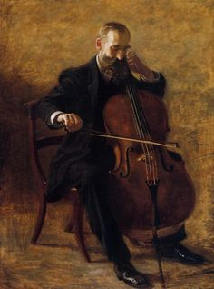 The Cello Player by Thomas Eakins - 1896 hecks yeah! i play cello! Cello Music, Art Music, Cello Art, Music Artwork, Motif Music, Music Pictures, American Artists, Art History, Art Photography