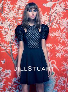 Jill Stuart  Model: Gracie Van Gastel Photographer: Mario Sorrenti