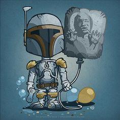 Adorable Prints Of Star Wars Villains As Little Kids