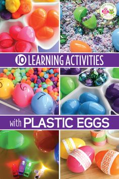 bird interactive counting book - spring counting activities for preschool and pre-k Circle Time Activities, Fine Motor Activities For Kids, Movement Activities, Counting Activities, Easter Activities, Literacy Activities, Literacy Centers, Steam Activities, Plastic Eggs