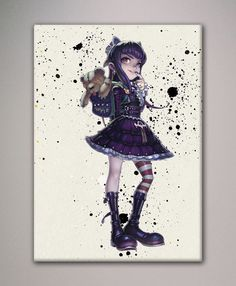 League of Legends  AnnieThe Dark Child LoL por watercolormagazine