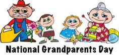 National Grandparents Day: Sunday, September 8th - First Sunday after Labor Day