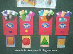 Boberkowy World : Listy i skrzynki- zabawa dydaktyczna z figurami. #listonosz, poczta