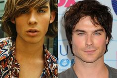 Ian Somerhalder in a Retro Photo and Ian Somerhalder Now