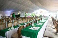 BizBash Reports on Wedding Conference: The half-day meeting sessions were held in an open-air tent on the Biltmore grounds. What a neat idea for meetings!